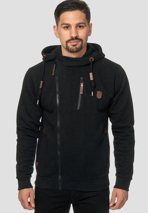 ELM - veste en sweat zippée - black
