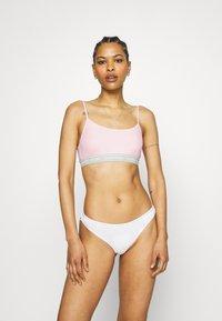 Calvin Klein Underwear - ONE UNLINED BRALETTE - Bustier - pearly pink - 1
