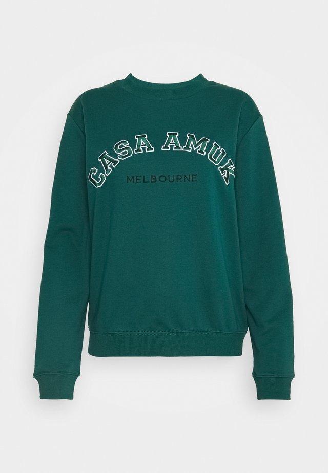 VARSITY JUMPER - Sweatshirt - pine green