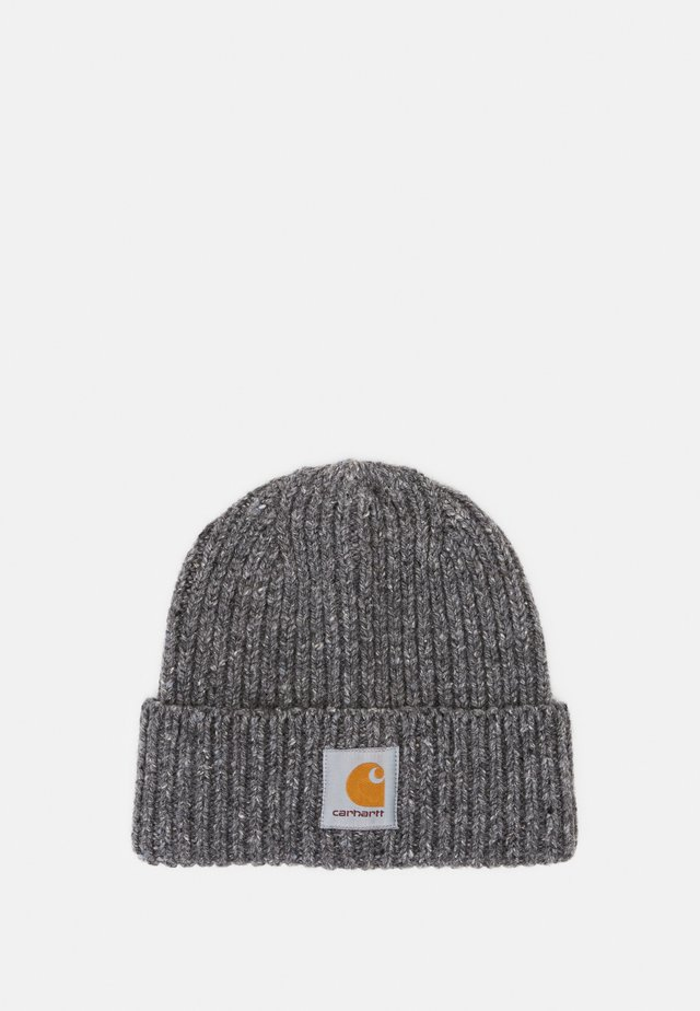 ANGLISTIC BEANIE  - Čepice - dark grey heather