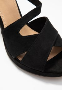 s.Oliver - High heeled sandals - black - 2