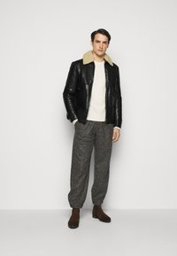 DRYKORN - GRYT - Leather jacket - schwarz - 1