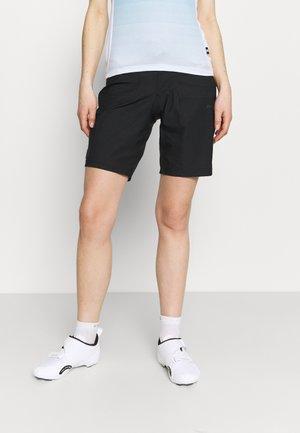 CORE OFFROAD XT SHORTS PAD 2 IN 1 - Sports shorts - black