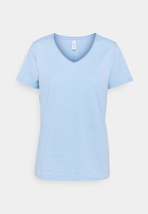 BABETTE  - Basic T-shirt - powder blue