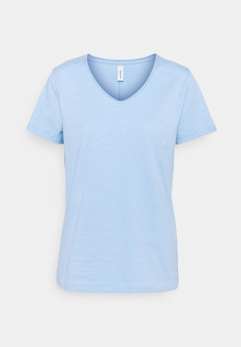 BABETTE  - Basic T-shirt - powder blue