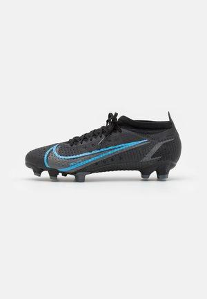 MERCURIAL VAPOR 14 PRO FG - Moulded stud football boots - black/iron grey