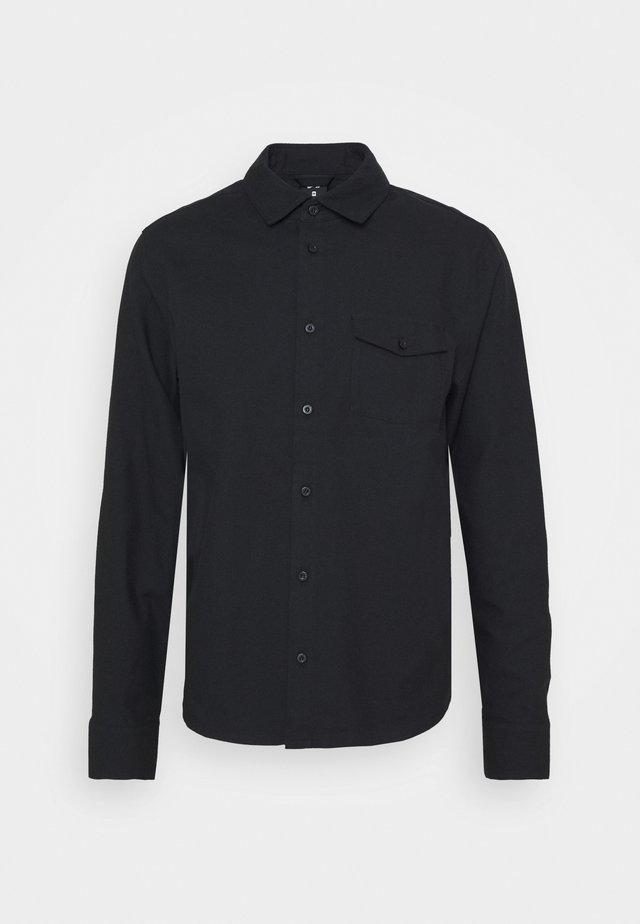 SOLID UNISEX - Overhemd - black