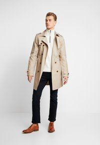 TOM TAILOR - COSY TROYER - Trui - offwhite - 1
