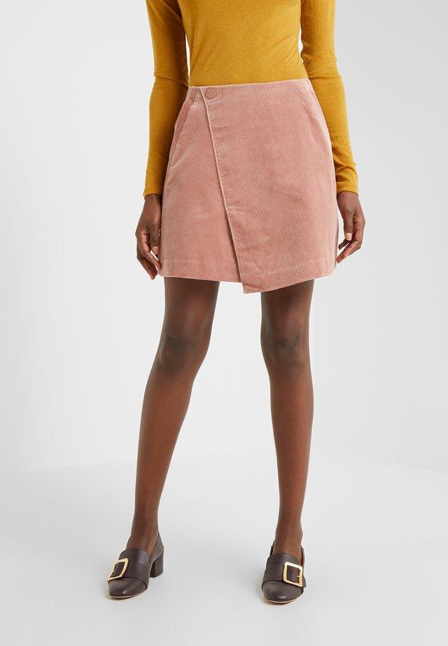 SKIRT - A-line skirt - rose
