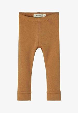 Leggings - Trousers - tobacco brown