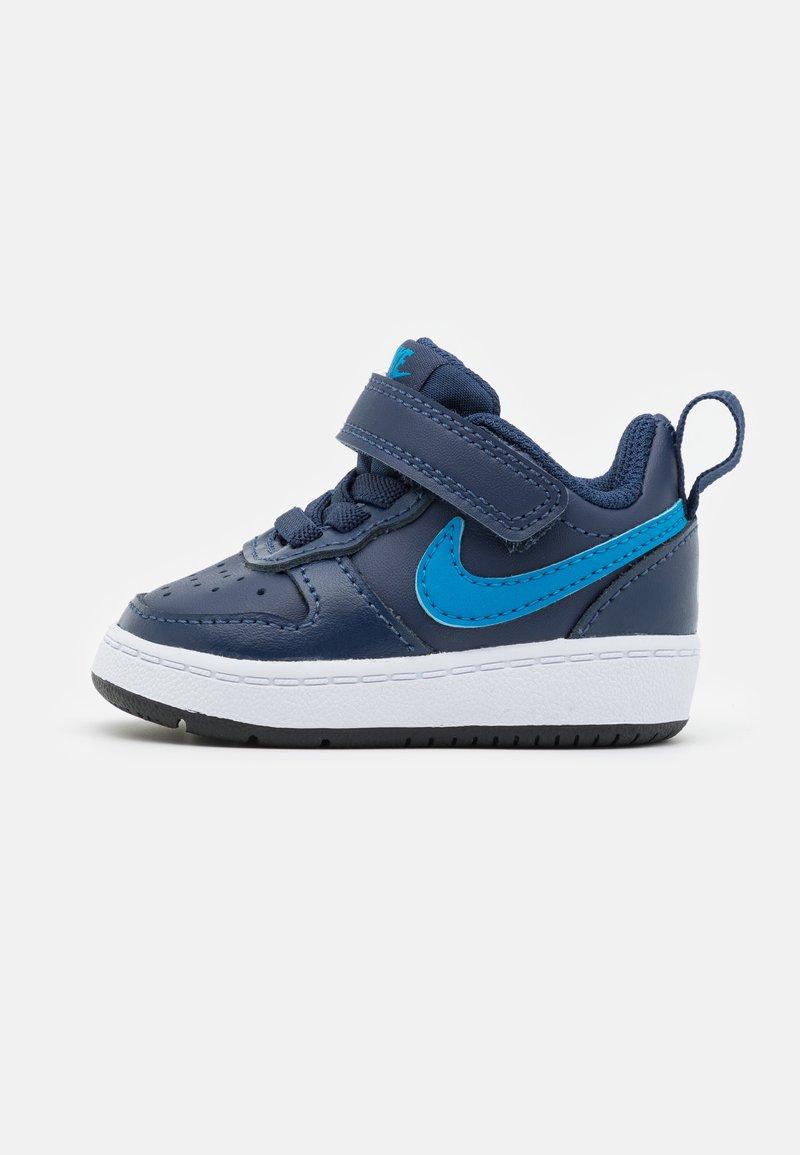 Nike Sportswear - COURT BOROUGH 2 UNISEX - Trainers - midnight navy/imperial blue/black