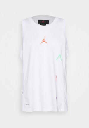 AIR  - Sports shirt - white/infrared