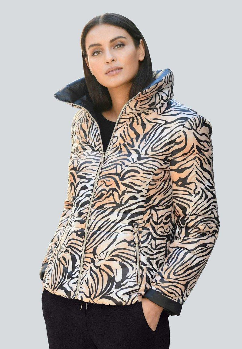 Alba Moda - Down jacket - beige,schwarz
