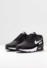 Nike Sportswear - AIR MAX 90 UNISEX - Trainers - black/white - 3