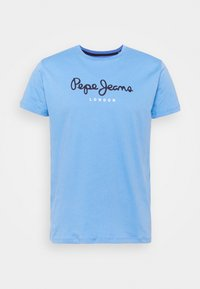Pepe Jeans - EGGO  - T-shirt med print - bright blue - 4