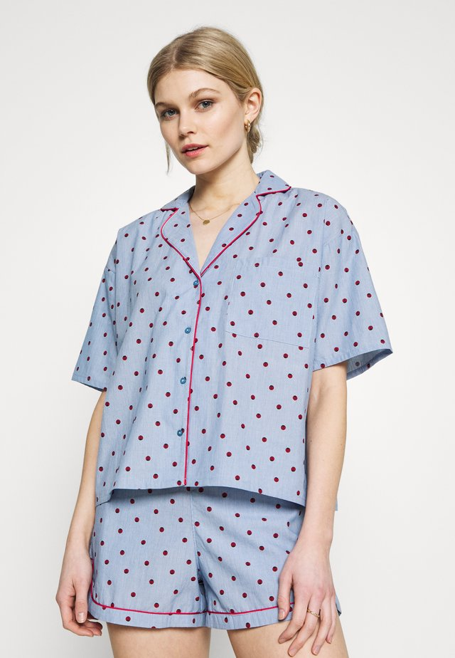 SOLANGE CHEMISE - Maglia del pigiama - bleu