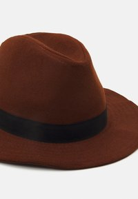 Only & Sons - ONSCARLO FEDORA HAT - Hat - brown stone - 3