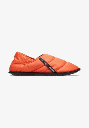 Pantuflas - tangerine