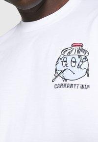 Carhartt WIP - ILL WORLD - Printtipaita - white - 5