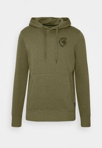 TOM TAILOR DENIM - Sweat à capuche - dry greyish olive - 4