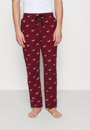 CLASSIC BOTTOMS - Pyjama bottoms - burg