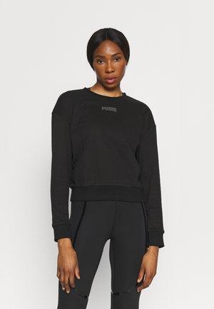 MODERN BASICS CREW - Sweatshirt - black