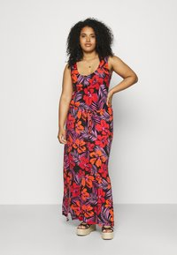 Simply Be - VEST DRESS - Maxi dress - red - 0