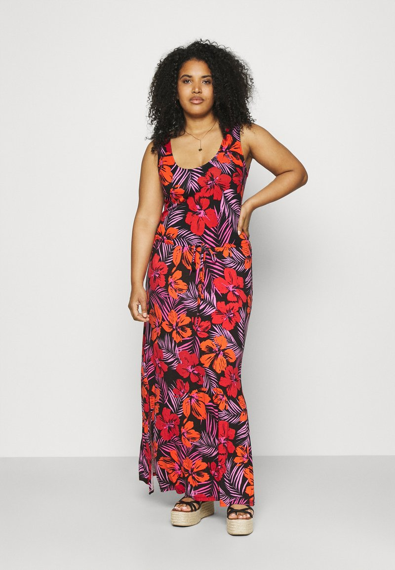 Simply Be - VEST DRESS - Maxi dress - red