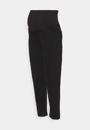 MATERNITY STRETCH MOM - Straight leg jeans - black