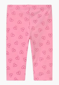 Blue Seven - SMALL GIRLS HEARTS 2 PACK - Leggings - Trousers - pink/white - 1