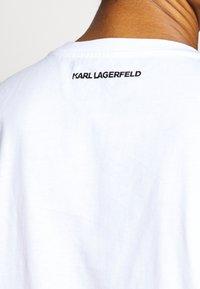 KARL LAGERFELD - LEGEND - Print T-shirt - white - 3