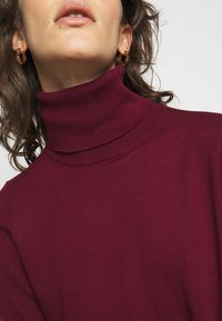 MICHAEL Michael Kors - TURTLE NECK - Jumper - dark ruby - 5