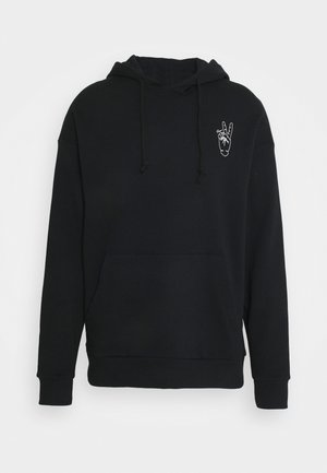 JORPEACE  HOOD  - Sweatshirt - black