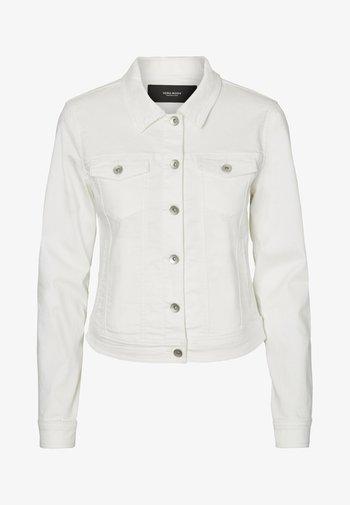 VMHOT SOYA  - Denim jacket - white