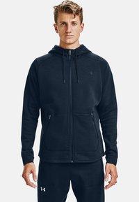 Under Armour - Zip-up hoodie - academy - 0