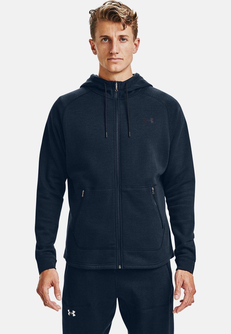 Under Armour - Zip-up hoodie - academy