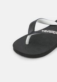 Havaianas - TOP MIX - T-bar sandals - black - 5