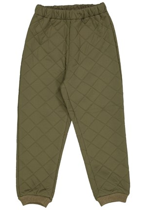 THERMO PANTS ALEX UNISEX - Outdoor trousers - dusty army