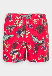 Superdry - SUPER BEACH VOLLEY - Plavky - vintage tropical red - 2