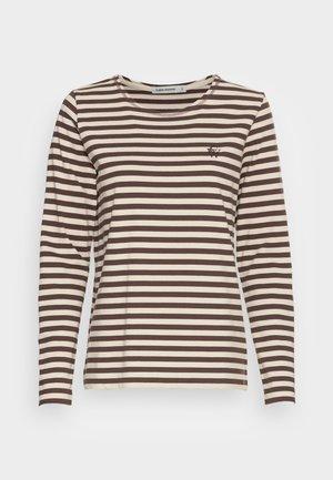 NEVADA  - Maglietta a manica lunga - brown/beige
