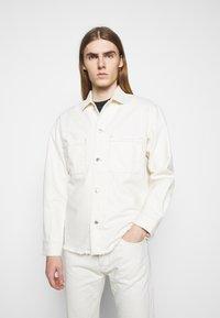 The Kooples - OUTERWEAR - Denim jacket - off white - 0