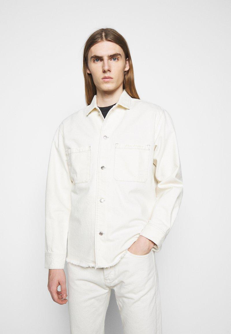 The Kooples - OUTERWEAR - Denim jacket - off white