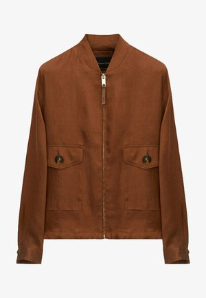 Bomberjacke - brown