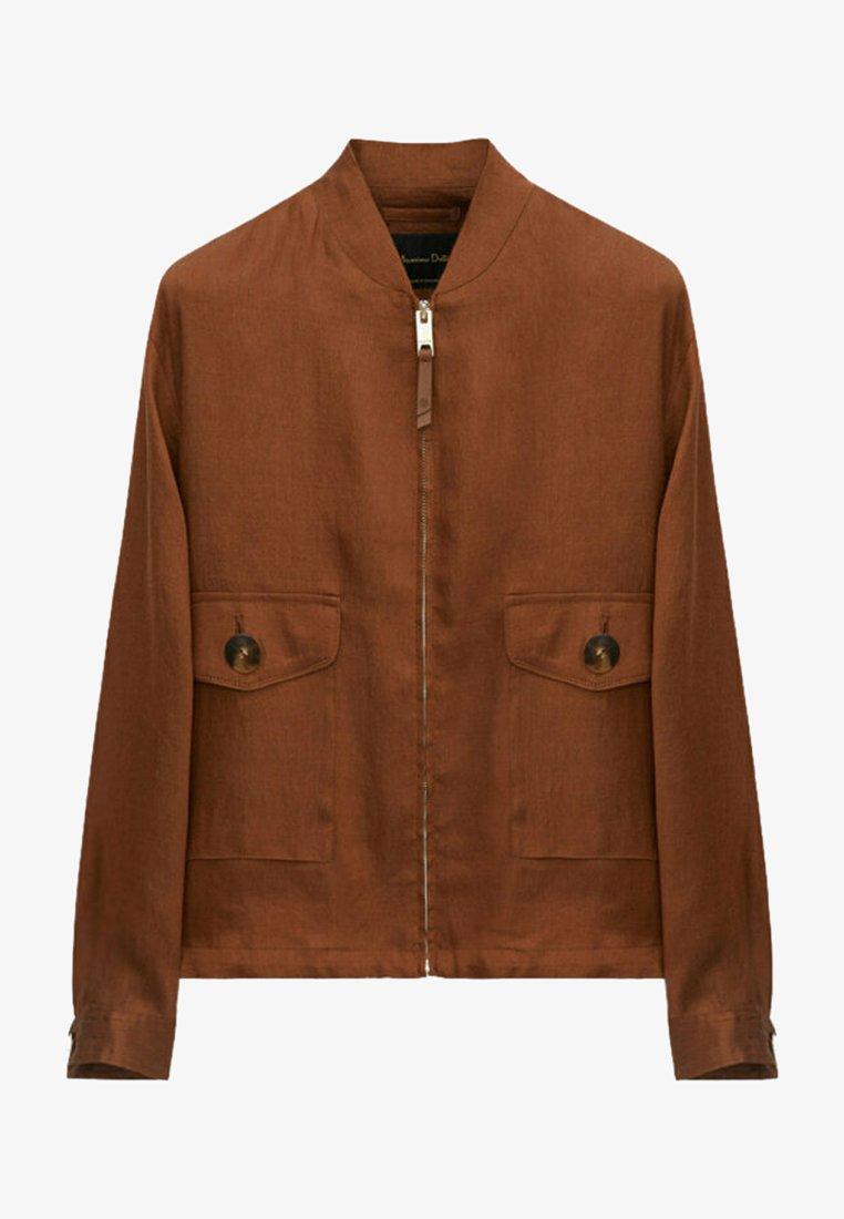 Massimo Dutti - Bomber Jacket - brown