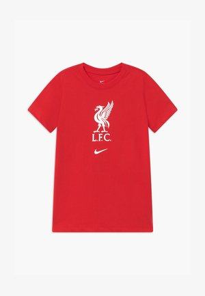 LIVERPOOL FC TEE EVERGREEN CREST - Equipación de clubes - university red/white