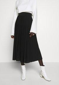 Anna Field Tall - Áčková sukně - black - 0
