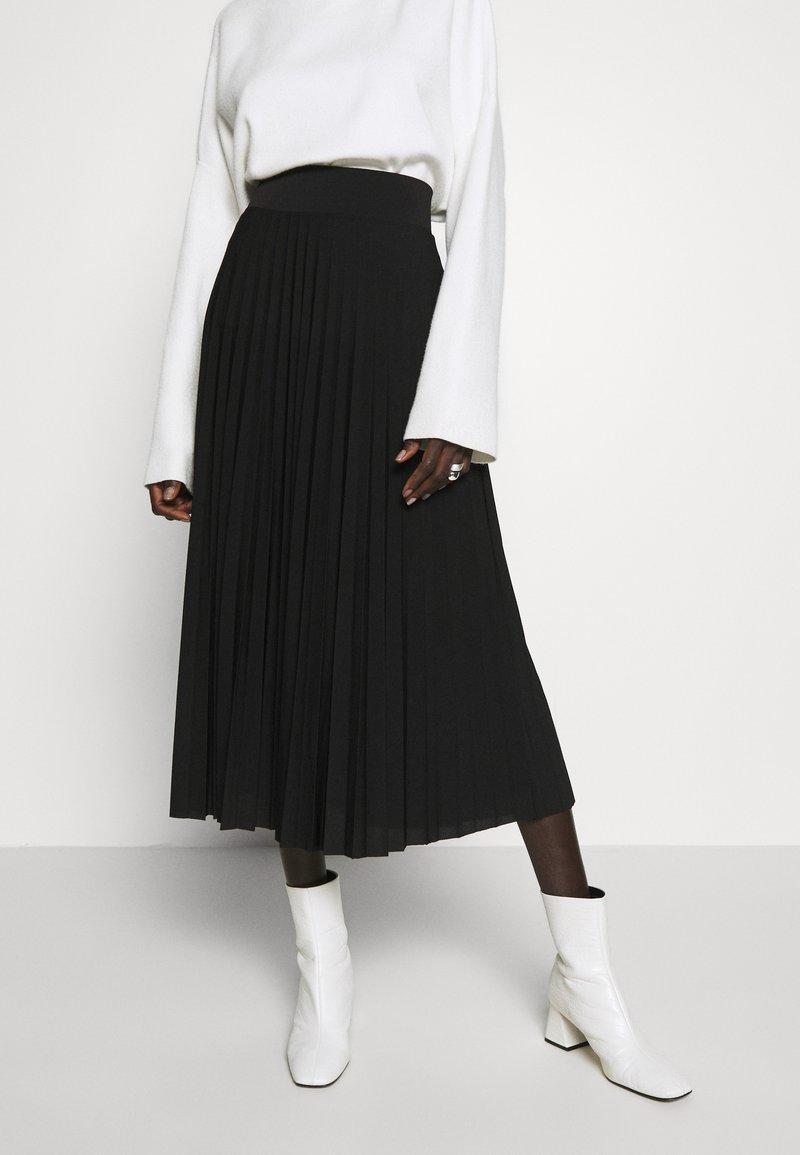 Anna Field Tall - Áčková sukně - black