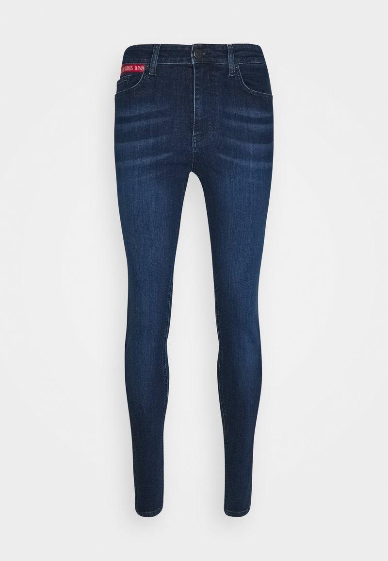 11 DEGREES - Jeans Skinny Fit - indigo wash