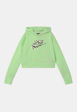 CROP HOODIE  - Sweater - vapor green
