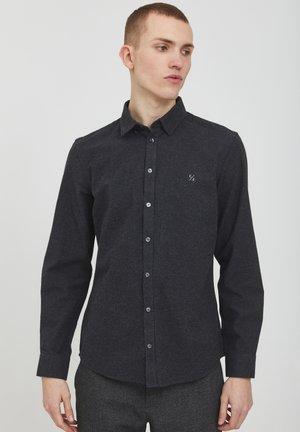 ANTON - Shirt - dark grey melange